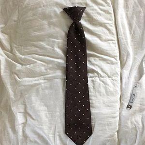 Vintage Clip on Tie